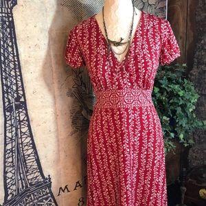Apt. 9 faux wrap dress size S
